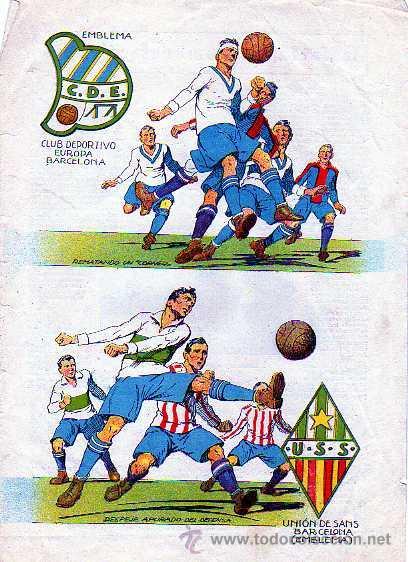 Lámina Años 20 30 Futbol Club Deportivo Europ Comprar Fotografías Antiguas De Deportes En Todocoleccion 22442067