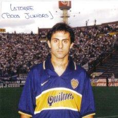 Coleccionismo deportivo - Foto de Latorre con el Boca Juniors - goly - 23575471