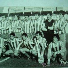 Coleccionismo deportivo: FOTO REAL DEL EQUIPO DE FUTBOL TALAVERA. 1986. 12 X 18 CM.. Lote 25922205