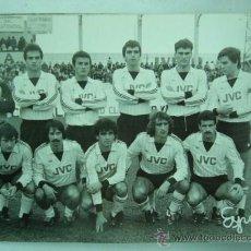 Coleccionismo deportivo: FOTO REAL DEL EQUIPO DE FUTBOL CEUTA. 1984. 12 X 18 CM.. Lote 25922226