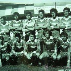 Coleccionismo deportivo: FOTO REAL DEL EQUIPO DE FUTBOL ALCOYANO. 1985. 12 X 18 CM.. Lote 25922550