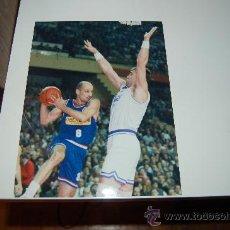Coleccionismo deportivo: REAL MADRID BASKET ( BALONCESTO ): FOTO DE ARVIDAS SABONIS. Lote 26569294
