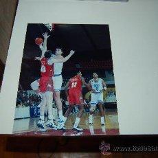 Coleccionismo deportivo: REAL MADRID BASKET ( BALONCESTO): FOTO DE ARVIDAS SABONIS. Lote 26569355