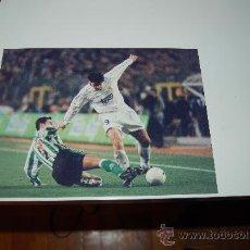Coleccionismo deportivo: REAL MADRID: FOTO DE DAVOR SUKER. Lote 26569497