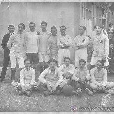 Coleccionismo deportivo: PRIMER EQUIPO DEL C.D. ALCOYANO (FOTO ORIGINAL). : , 1929. 22.5X16.5. . FOTOGRAFÍA. NORMAL (CON SEÑA. Lote 27713246