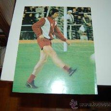 Collezionismo sportivo: AJAX DE AMSTERDAM: LÁMINA DE JOHAN CRUYFF. 1973. Lote 28443617