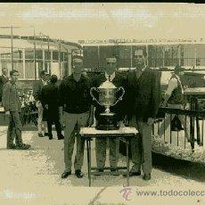 Coleccionismo deportivo: FOTOGRAFIA PREMIOS TIRO DE PICHON 1966 FOTO FLORENTINO BUENO MADRID DETERIORADA ..... Lote 28523683