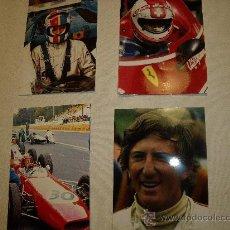 Coleccionismo deportivo: 12 FOTOS DE PILOTOS FORMULA 1. Lote 29881265