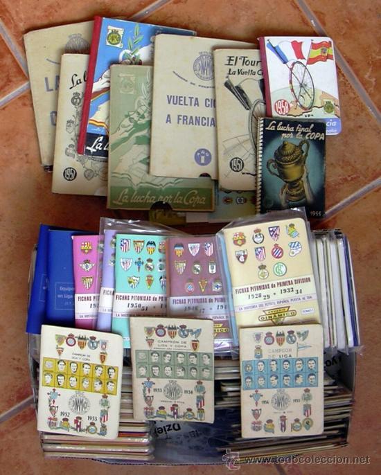 COLECCIÓN DE CALENDARIOS DINÁMICO DE LA 1949-50 A LA 2010-2011 - 151 TOMITOS - VER FOTOS INTERIORES (Coleccionismo Deportivo - Documentos - Fotografías de Deportes)