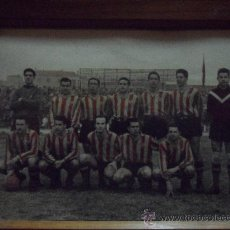 Coleccionismo deportivo: IMPORTANTE FOTO DEL EQUIPO DEL SAN ANDRES AÑOS 50 COLOREADA VER FOTOS MEDIDAS 36,50X30,50 CENT. Lote 30364468