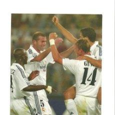 Coleccionismo deportivo: FOTO Nº28 CELEBRACION - FOTO 10X15 COLECCION REAL MADRID MAGIC BOX 2002-2003 . Lote 31071389