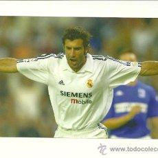 Coleccionismo deportivo: FOTO Nº61 FIGO CELEBRACION - FOTO 10X15 COLECCION REAL MADRID MAGIC BOX 2002-2003 . Lote 31071729
