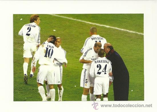 FOTO Nº92 CELEBRACION 3 - FOTO 10X15 COLECCION REAL MADRID MAGIC BOX 2002-2003 (Coleccionismo Deportivo - Documentos - Fotografías de Deportes)