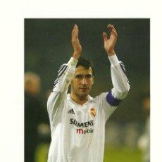 Coleccionismo deportivo: FOTO Nº107 RAUL - FOTO 10X15 COLECCION REAL MADRID MAGIC BOX 2002-2003 . Lote 31072320