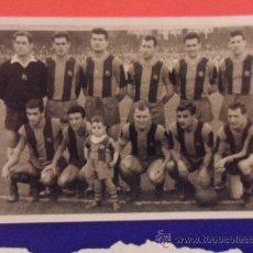 Coleccionismo deportivo: ANTIGUA FOTOGRAFIA ORIGINAL DE ALINEACION AÑOS 60 DEL FUTBOL CLUB F.C BARCELONA FC BARÇA CF KUBALA. Lote 31628763