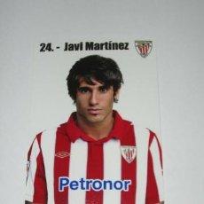Coleccionismo deportivo: FOTO OFICIAL JAVI MARTÍNEZ (ATHLETIC DE BILBAO). Lote 31737350