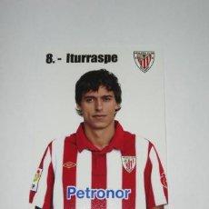 Coleccionismo deportivo: FOTO OFICIAL ITURRASPE (ATHLETIC DE BILBAO). Lote 31737384