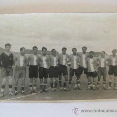 Coleccionismo deportivo: FOTOGRAFIA DE UN ANTIGUO EQUIPO DE FUTBOL DE MADRID. Lote 31666949