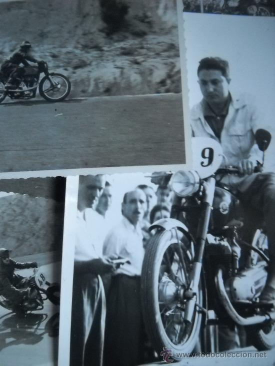 Coleccionismo deportivo: CARRERAS DE MOTOCICLISMO - 15 FOTOGRAFIAS - MONTJUIC - 1950-1960'S - Foto 2 - 31703921