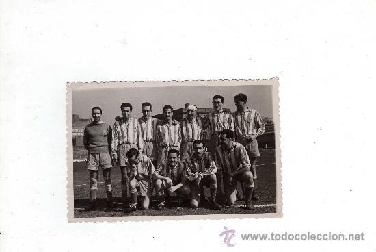 FOTOGRAFIA RCD ESPAÑOL , AÑOS 50 - 12'5 X 8 CM, (Coleccionismo Deportivo - Documentos - Fotografías de Deportes)