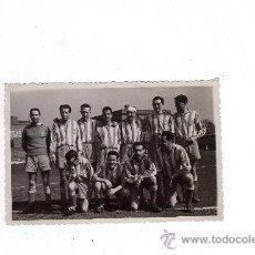 Coleccionismo deportivo: FOTOGRAFIA RCD ESPAÑOL , AÑOS 50 - 12'5 X 8 CM, . Lote 31757222