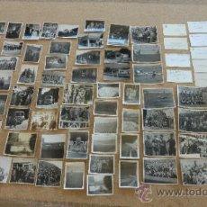 Coleccionismo deportivo: LOTE DE FOTOGRAFIAS DEL FUTBOL CLUB BARCELONA, DE DIRECTIVO DEL BARÇA. AÑOS 40-50. KUBALA .... Lote 31958354