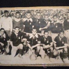 Coleccionismo deportivo: FOTOGRAFIA DEL REAL ZARAGOZA TEMPORADA 1929-1930.. Lote 32038317