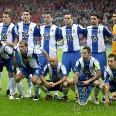 Coleccionismo deportivo - FOTO 20x30 RCD ESPANYOL FINAL COPA UEFA 06/07 CUP - ONCE INICIAL - ALTA CALIDAD HQ POSTER - 38879447