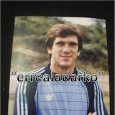 Coleccionismo deportivo: FOTOGRAFIA 15X20 ARKONADA ARCONADA REAL SOCIEDAD 83 84 1983 1984. Lote 34123698
