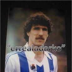 Coleccionismo deportivo: FOTOGRAFIA 15X20 ZAMORA REAL SOCIEDAD 83 84 1983 1984. Lote 32441598