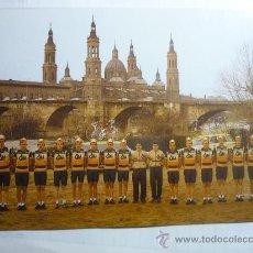 Coleccionismo deportivo: POSTAL EQUIPO CICLISTA CAI. Lote 32737199