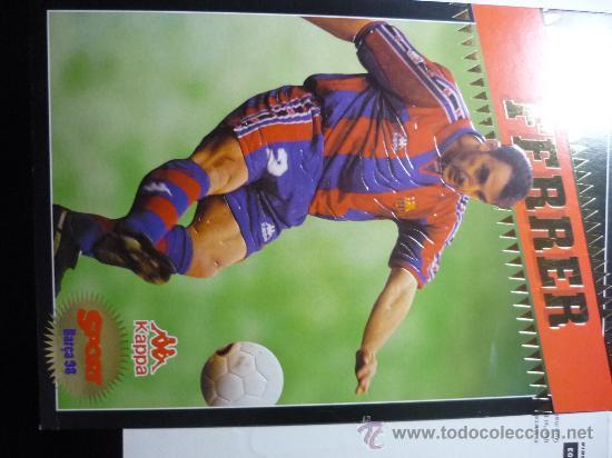 FUTBOL FERRER JUGADOR BARÇA (Coleccionismo Deportivo - Documentos - Fotografías de Deportes)