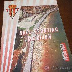 Coleccionismo deportivo - Poster Book fotos Real Sportig De Gijon 1995 ,ver fotos adicionales del interior del album - 32828347
