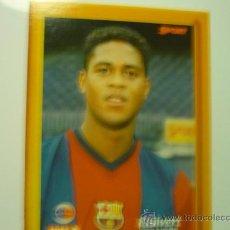 Coleccionismo deportivo: FOTO F.C.BARCELONA DEL JUGADOR KLUIVERT. Lote 32868313