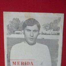 Coleccionismo deportivo: PROGRAMA DEPORTIVO DEL MERIDA INDUSTRIAL--. Lote 33091889