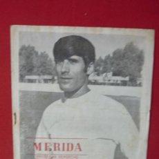 Coleccionismo deportivo: PROGRAMA DEPORTIVO DEL MERIDA INDUSTRIAL--. Lote 33091923