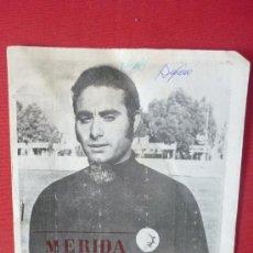 Coleccionismo deportivo: PROGRAMA DEPORTIVO DEL MERIDA INDUSTRIAL--. Lote 33092039