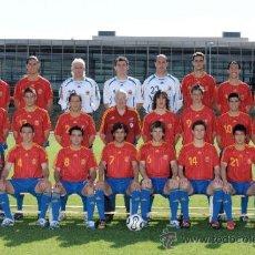 Coleccionismo deportivo: FOTO 20X30 SELECCION ESPAÑOLA MUNDIAL 2006 ALEMANIA - PLANTILLA ESPAÑA - ALTA CALIDAD POSTER . Lote 33386768