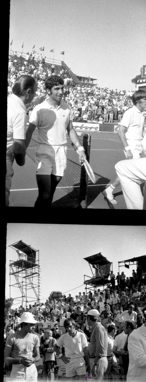 TENIS - COPA DAVIS - 1970 - 60 NEGATIVOS (Coleccionismo Deportivo - Documentos - Fotografías de Deportes)