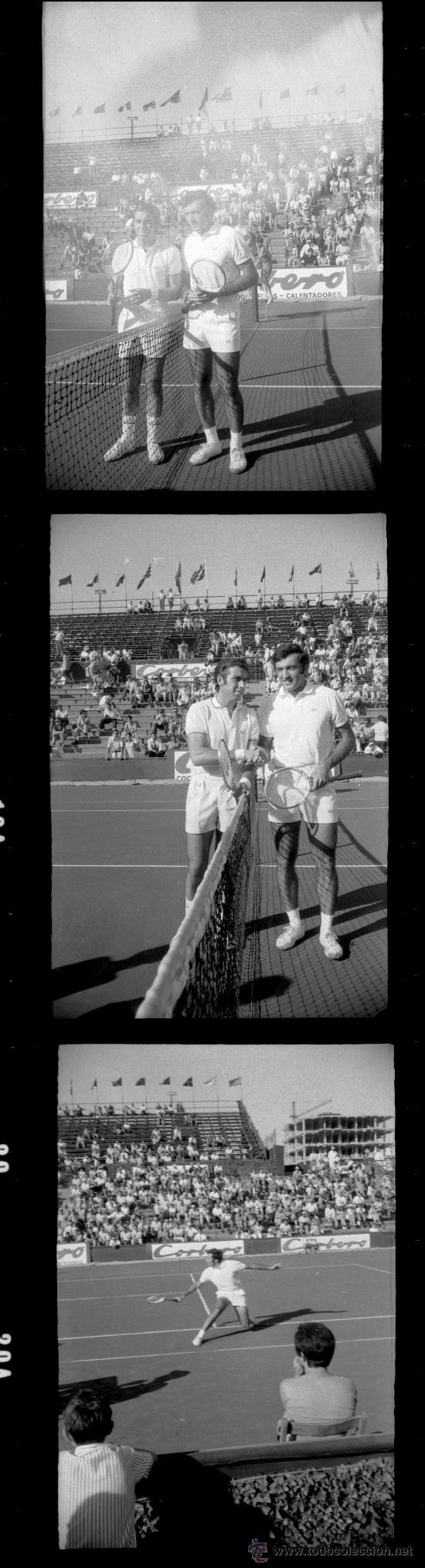 Coleccionismo deportivo: Tenis - COPA DAVIS - 1970 - 60 NEGATIVOS - Foto 2 - 33339975