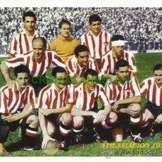 Coleccionismo deportivo: FOTO 10X15 CM. ATLETICO DE MADRID - ALINEACION TEMPORADA 1939-1940 (AT. AVIACION). Lote 33557805