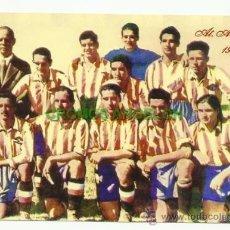 Coleccionismo deportivo: FOTO 10X15 CM. ATLETICO DE MADRID - ALINEACION TEMPORADA 1940-1941 (AT. AVIACION). Lote 33557811