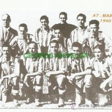Coleccionismo deportivo: FOTO 10X15 CM. ATLETICO DE MADRID - ALINEACION TEMP. 1940-1941 (AT. AVIACION). Lote 33557820