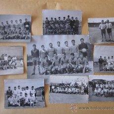 Coleccionismo deportivo - LOTE 9 FOTOGRAFÍAS ANTIGUAS FUTBOL CATALÁN CD MATERIAL BARCELONETA Y OTROS - 33758816