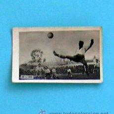 Coleccionismo deportivo: TABAY A-36 - FEBRERO 1948, ESPAÑOL 2, ALCOYANO 0, MARTINEZ DEFENSA DEL ALCOYANO DESPEJA. Lote 34480657