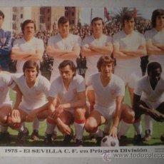 Coleccionismo deportivo: FOTO. BIRI. PLANTILLA SEVILLA FUTBOL CLUB 1975.. Lote 34847246