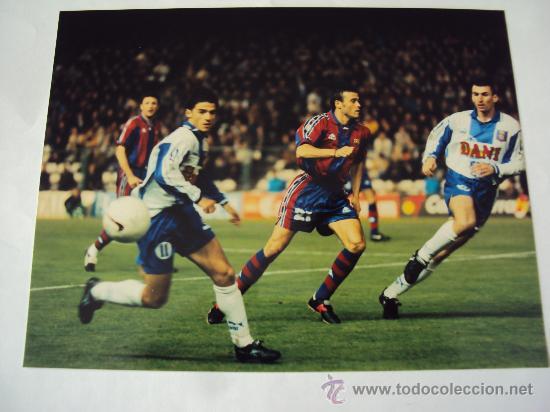 RCD ESPANYOL - FC BARCELONA. ULTIMO DERBI . T : 96-97 (Coleccionismo Deportivo - Documentos - Fotografías de Deportes)