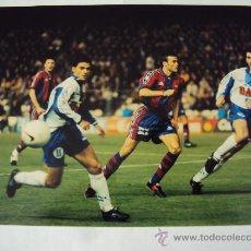 Coleccionismo deportivo: RCD ESPANYOL - FC BARCELONA. ULTIMO DERBI . T : 96-97. Lote 34743921
