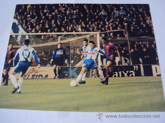 Coleccionismo deportivo: RCD Espanyol - FC Barcelona. Ultimo Derbi . T : 96-97 - Foto 2 - 34743921
