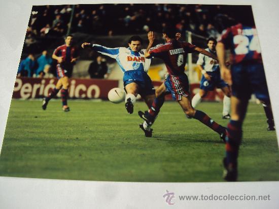 Coleccionismo deportivo: RCD Espanyol - FC Barcelona. Ultimo Derbi . T : 96-97 - Foto 3 - 34743921